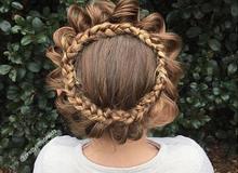 Mê mẩn hàng trăm kiểu tóc đẹp mẹ làm cho con gái