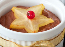 Mousse socola mừng Giáng sinh
