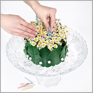 Cắm hoa cúc thành bánh gato xinh xắn 5