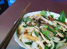 Bánh ướt lòng gà ở Đà Lạt níu chân du khách