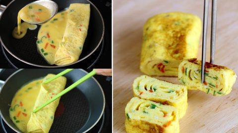 Cách làm trứng cuộn Hàn Quốc đơn giản, hoàn hảo 1