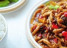 Thịt sốt măng nấm - món mặn ngon cơm