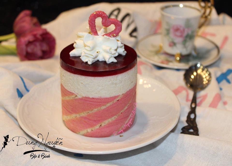Mousse cherry – mousse quả chuối