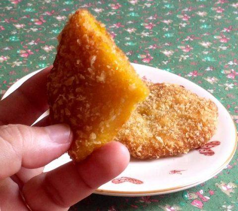 Bánh bí đỏ vàng ươm, giòn ruộm 8