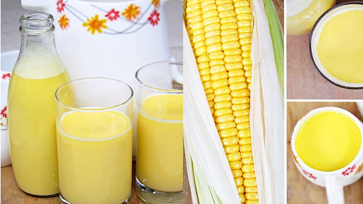 Cách nấu sữa bắp ngon, đơn giản tại nhà