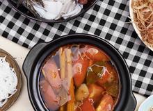 Món ngon cuối tuần: Cách nấu lẩu hải sản thịt bò siêu ngon