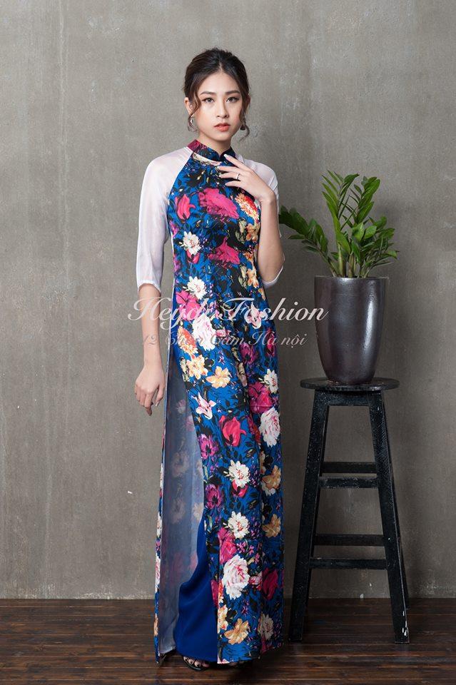 Du Xuân duyên dáng cùng những thiết kế áo dài truyền thống đến từ các thương hiệu Việt với giá chưa đến 3 triệu đồng - Ảnh 9.