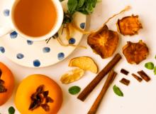 Món ngon ngày Tết: Trà hồng quế và cách phơi hồng khô tại nhà