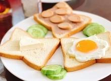 5 phút cho bữa sáng nhanh gọn, ngon miệng