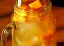 Trà trái cây nhiệt đới mát lạnh