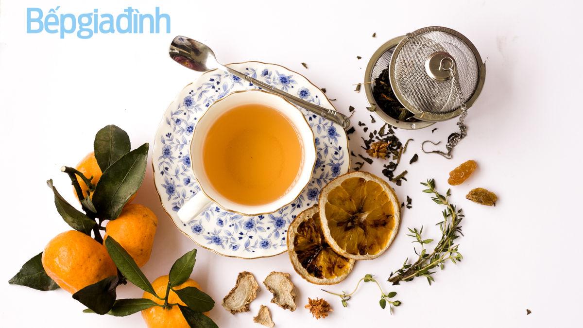 Món ngon ngày Tết: Trà cam gừng và cách sấy cam vàng