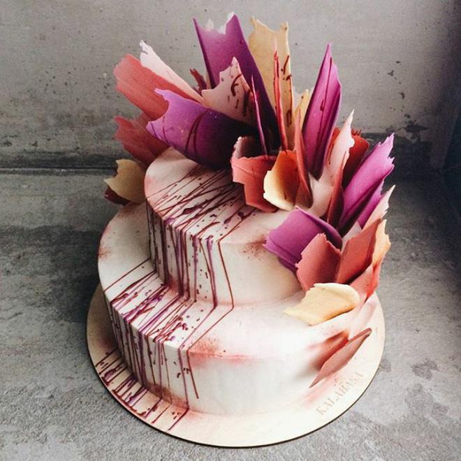 Chiêm ngưỡng tuyệt tác bánh ngọt - Brushstrokes cake đang gây bão mạng xã hội Instagram - Ảnh 10.