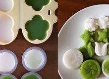 Cách làm rau câu dừa, lá dứa cực ngon