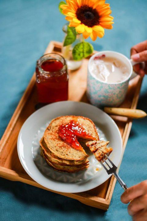 pancake chuối