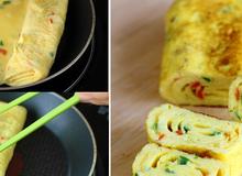 Cách làm trứng cuộn Hàn Quốc đơn giản, hoàn hảo
