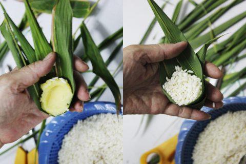 Cách gói bánh ú lá tre cổ truyền cho Tết Đoan Ngọ 6