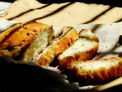 Bánh mì mặn không cần nhồi vẫn thơm ngon