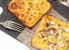 Mách bạn làm món pizza khoai lang siêu tốc cho bữa sáng