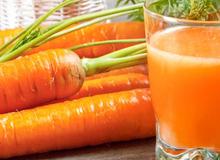 Khỏe, đẹp nhờ uống nước ép cà rốt, gừng tươi mỗi sáng