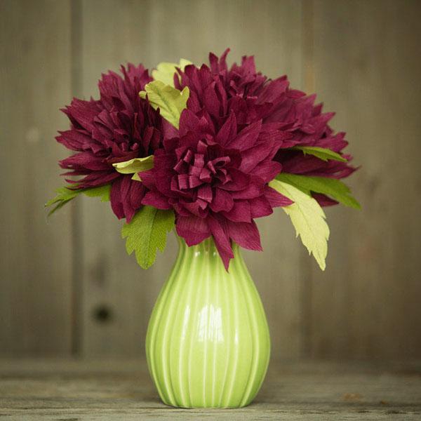 3 cách làm hoa giấy sắc màu trang trí đón Tết về - Ảnh 10.