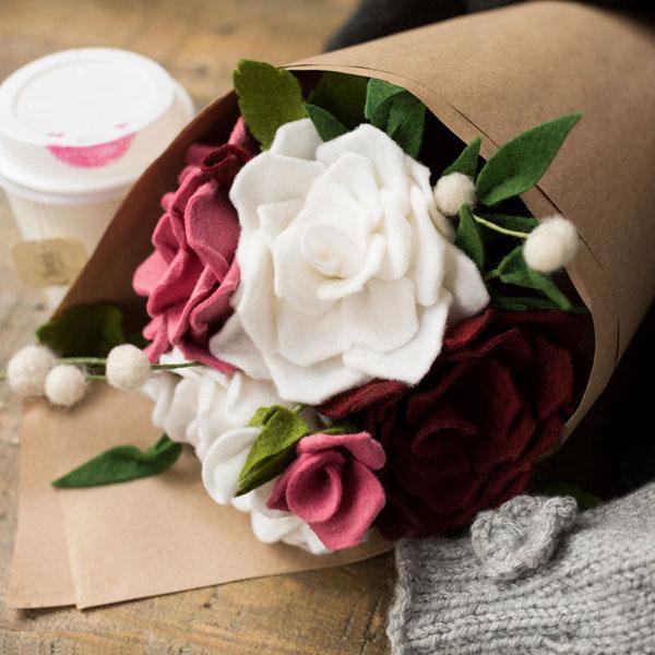 Cách làm hoa hồng giả đẹp như thật không bao giờ tàn - Ảnh 11.
