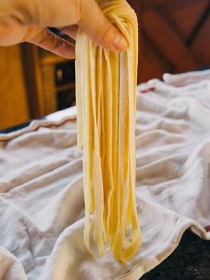 dạy làm mỳ pasta tươi