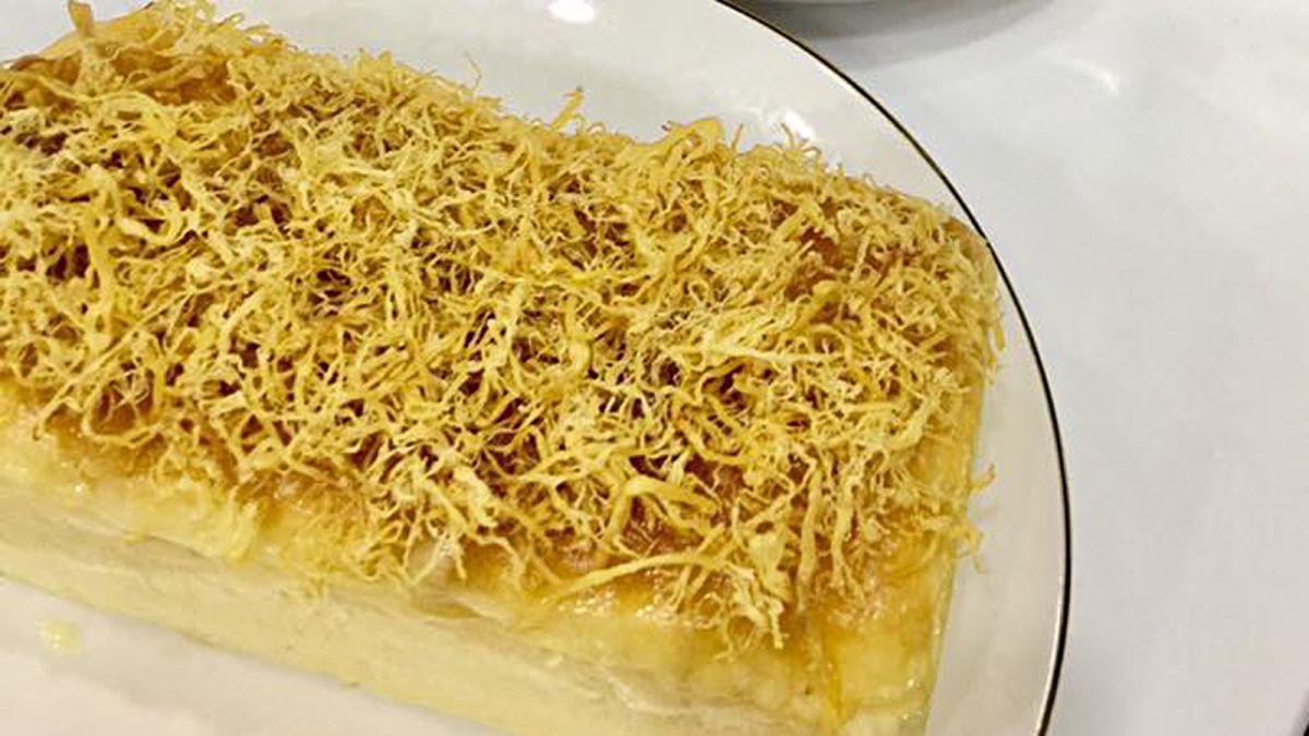 Cách làm bánh mì chà bông phô mai tan chảy