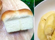 Cách làm bánh mì sữa sầu riêng cho bữa sáng
