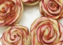 Cách làm bánh tart hoa hồng xinh xắn