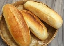 Học cách làm bánh mì việt nam da mỏng nóng giòn