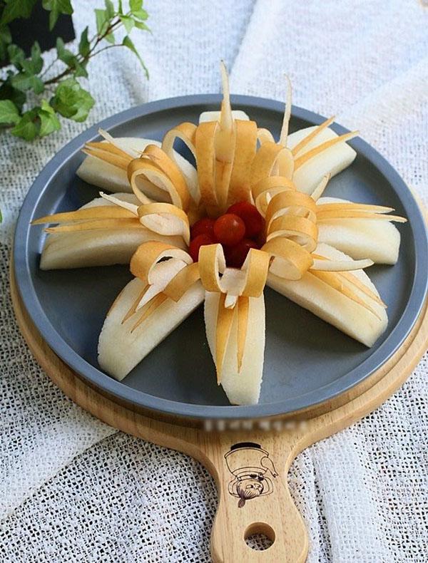 3 cách cắt tỉa trái cây trang trí đĩa đơn giản mà đẹp - Ảnh 2.