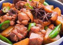 Đậm vị đưa cơm với món gà rim khoai tây
