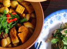 Vỏ sắn ngâm xào cải chua – món ăn miền ký ức