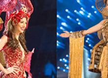 Những bộ trang phục truyền thống lộng lẫy, cầu kỳ nhất đêm Chung kết Hoa hậu Hoàn Vũ 2017