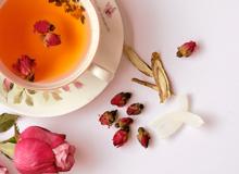Món ngon ngày Tết: Trà hoa hồng cam thảo