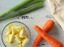 Sức mạnh đáng gờm của món nước ép cà rốt và thơm