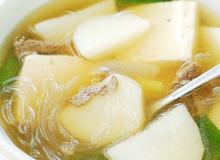 Nấu súp khoai tây thịt bò đơn giản