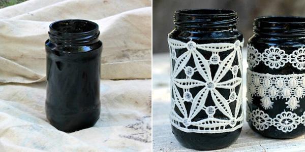4 cách tái chế chai lọ cũ thành lọ cắm hoa xinh lung linh - Ảnh 8.