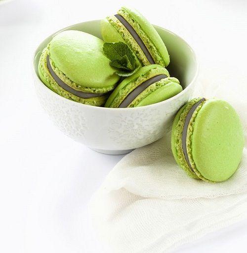 Macaron trà xanh cuốn hút mê hoặc mọi ánh nhìn