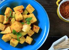 Món nấu nhanh: Cách làm xoài lắc ngon