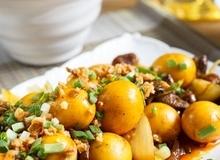 Chảy nước miếng với món ăn vặt hot nhất Sài Gòn: Trứng non cháy tỏi