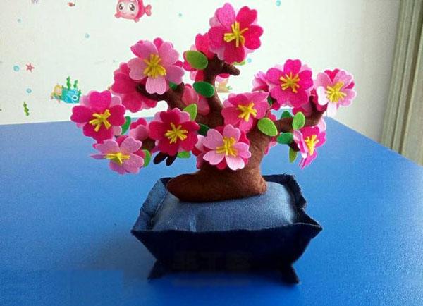 Trang trí nhà đẹp đón Tết với chậu hoa đào không bao giờ tàn - Ảnh 8.