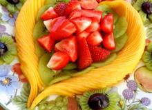 Trang trí hoa quả đẹp cho tiệc gia đình