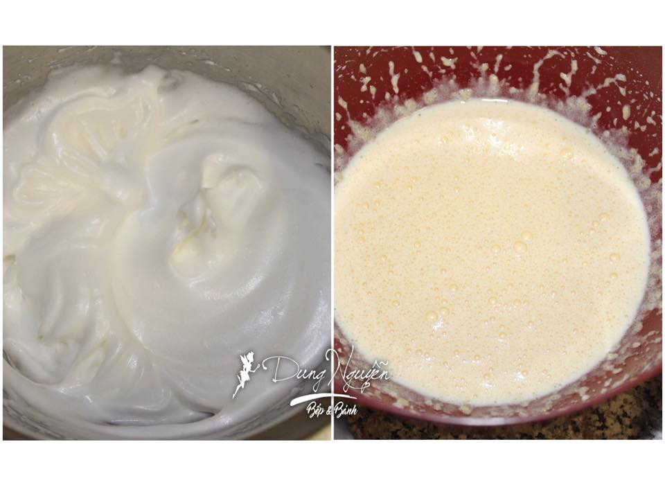 Cách làm mousse 2 tầng vị cherry và chuối 3