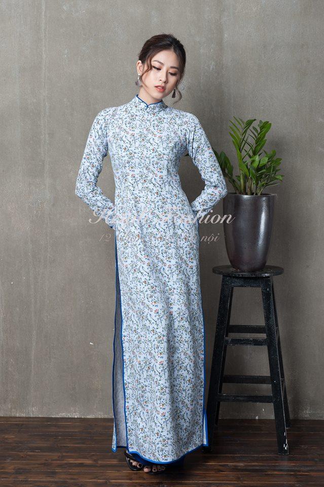 Du Xuân duyên dáng cùng những thiết kế áo dài truyền thống đến từ các thương hiệu Việt với giá chưa đến 3 triệu đồng - Ảnh 10.