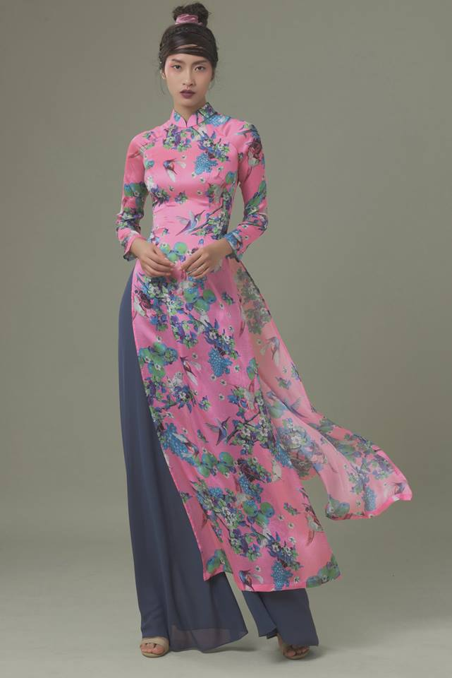Du Xuân duyên dáng cùng những thiết kế áo dài truyền thống đến từ các thương hiệu Việt với giá chưa đến 3 triệu đồng - Ảnh 7.