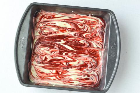 Nướng Red Velvet phô mai siêu ngon 5