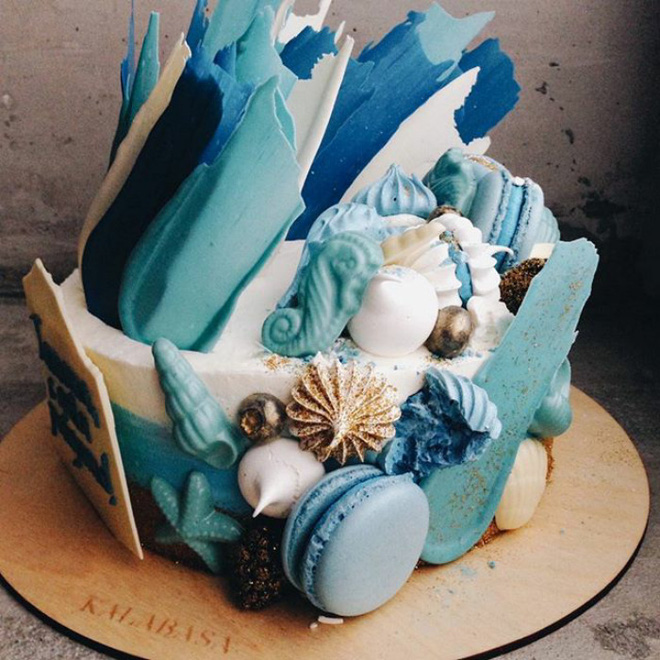 Chiêm ngưỡng tuyệt tác bánh ngọt - Brushstrokes cake đang gây bão mạng xã hội Instagram - Ảnh 11.