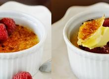 Làm creme brulee vừa ngon vừa dễ không cần dụng cụ khò