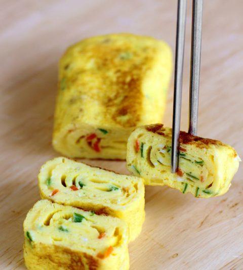 Cách làm trứng cuộn Hàn Quốc đơn giản, hoàn hảo 6